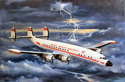 TWA Lockheed Super Constellation Connie