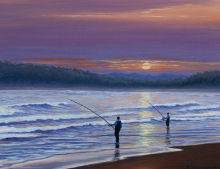 Fishing Painting
